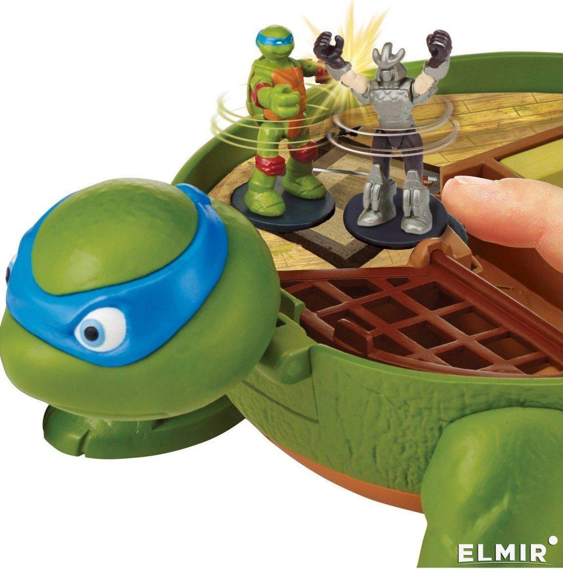 Игровой набор TMNT Черепашки-ниндзя Micro Леонардо ...