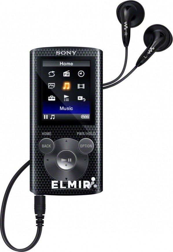 MP3 плеер 4Gb Sony Walkman NWZ-E383 Black купить | ELMIR